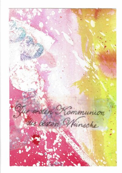 Erste Kommunionskarte