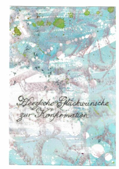 Firmungs- / Konfirmationskarte